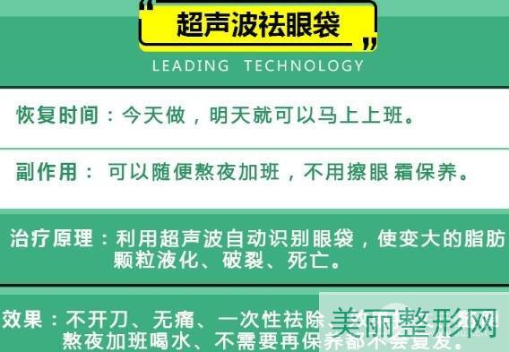 重庆新桥医院美容科去眼袋怎么样